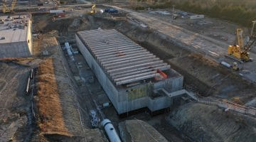 Work completed on the High Service Pump Station at Leonard WTP January 2021