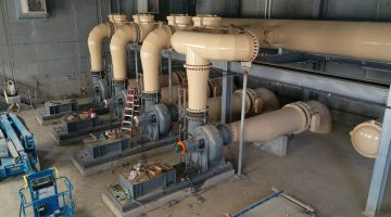 Treatment Plant Influent Pump Station May 2021