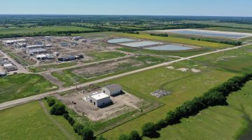 Overview of the Water Treatment Plant site May 2021