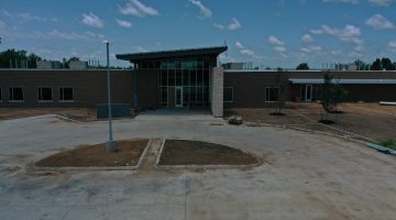Lake Operations Center front as of July 2021