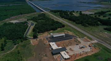 Work on Lake Operations Center July 2021