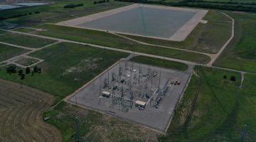 Electrical substation & Terminal Storage Reservoir July 2021