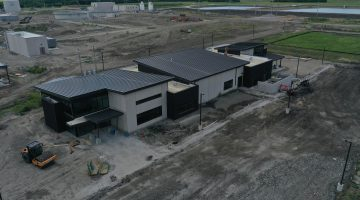Operations Center at Leonard Water Treatment Plant July 2021